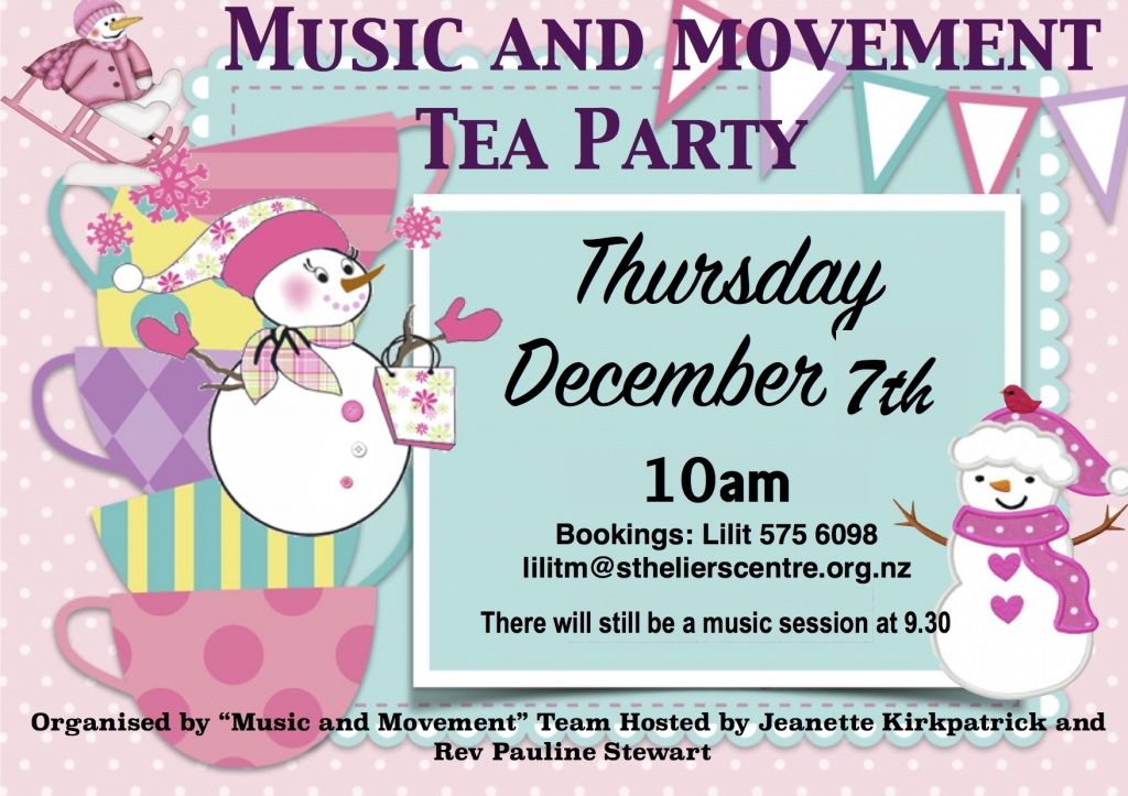 Music and Movment tea party christmas (1)