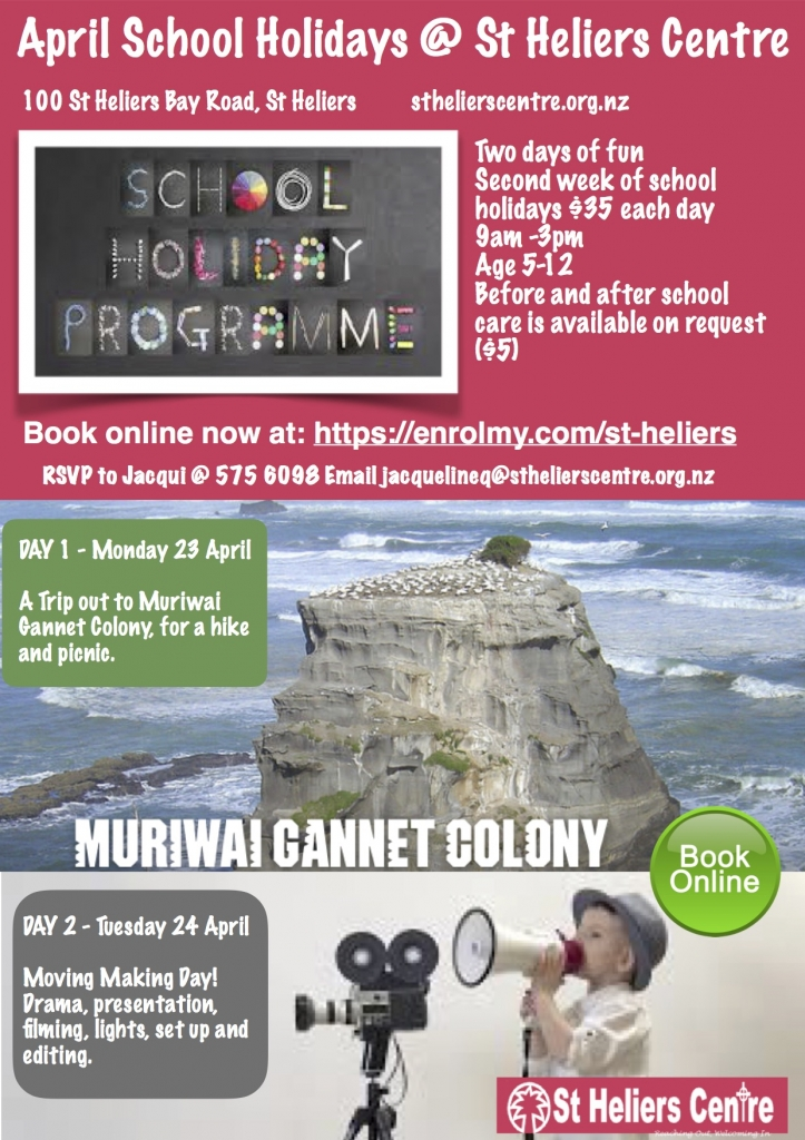 Holiday Programme April 2018