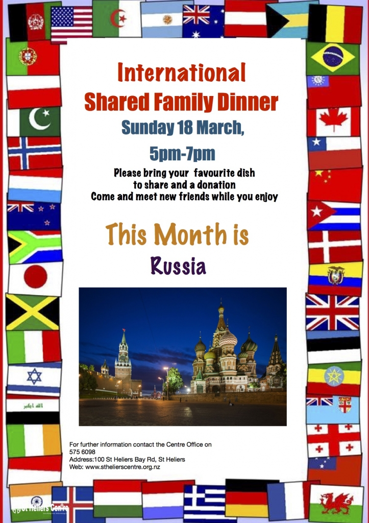 International Dinner Russia