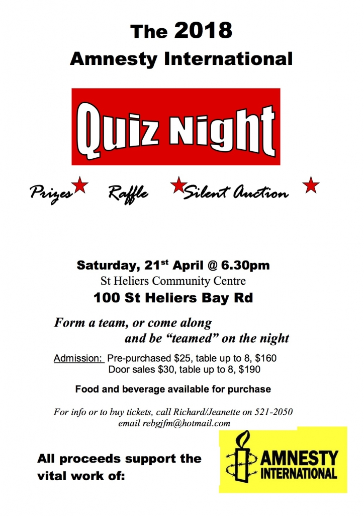 Flyer Quiz Night