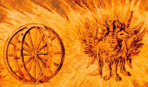Ezekiel's vision of wheels