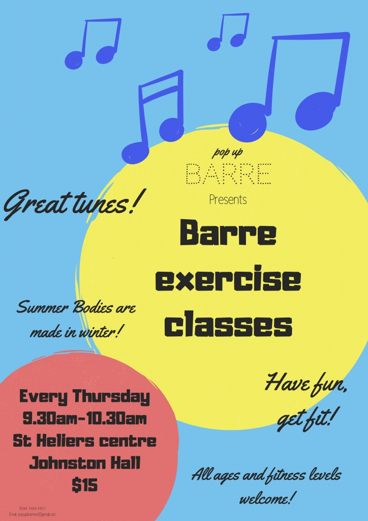 Barre exercise classes
