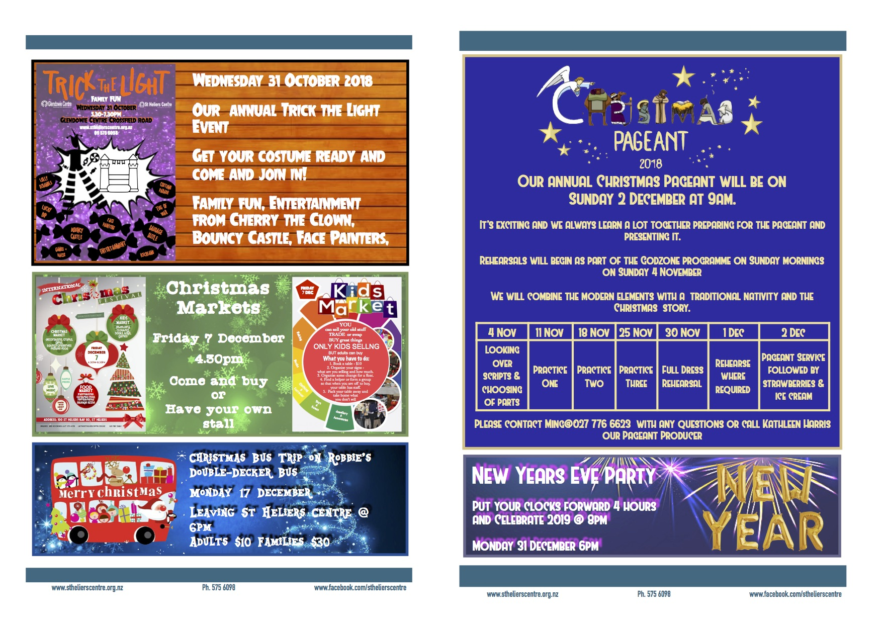 Youth and Children Newsletter Term Four 2018 (2)