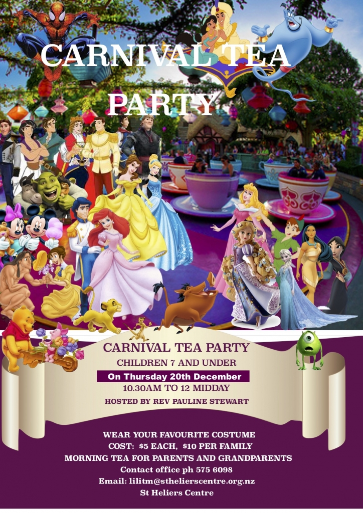 Carnival tea party