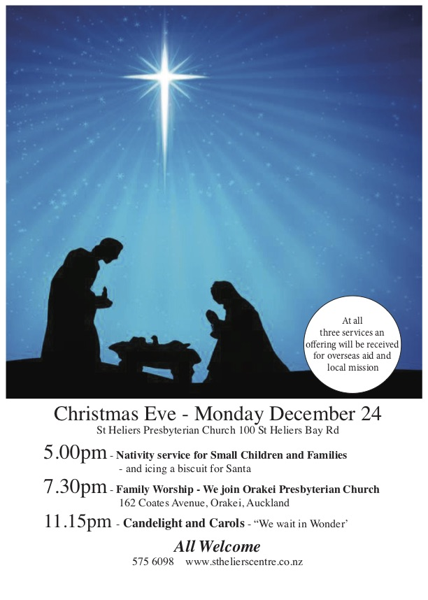 christmas eve services -x day