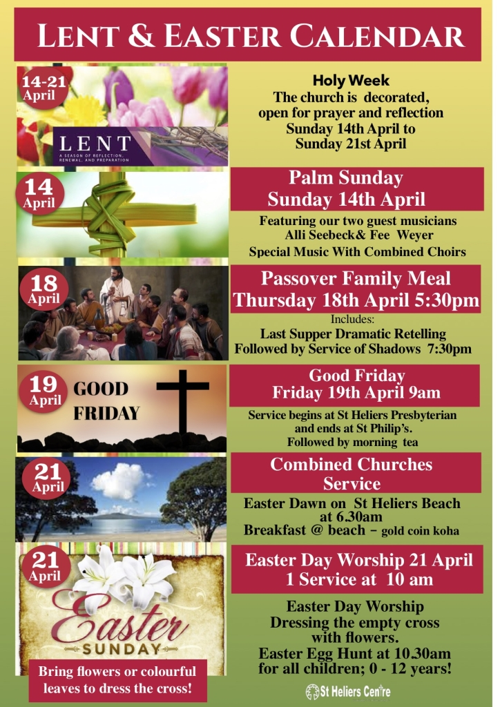 Easter 16th April