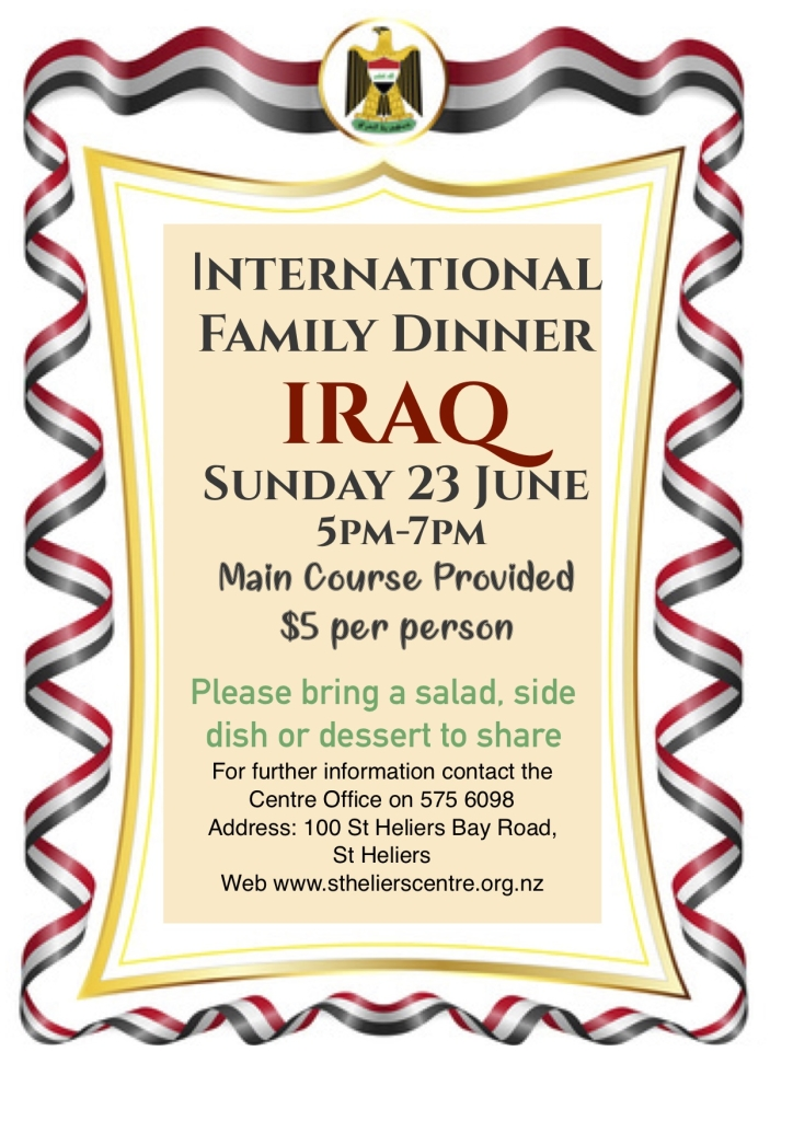 international dinner Irak copy