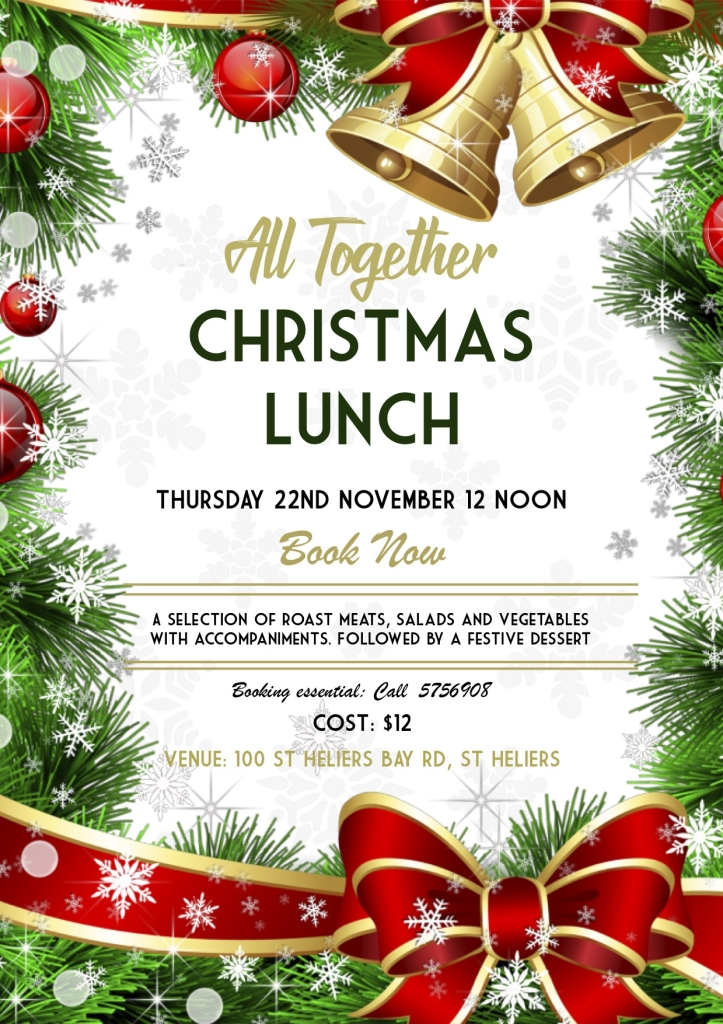 ALL TOGETHER CHRISTMAS LUNCH POSTER 2019