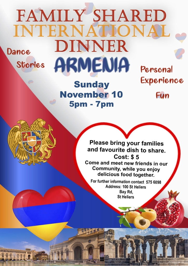 Armenian International dinner